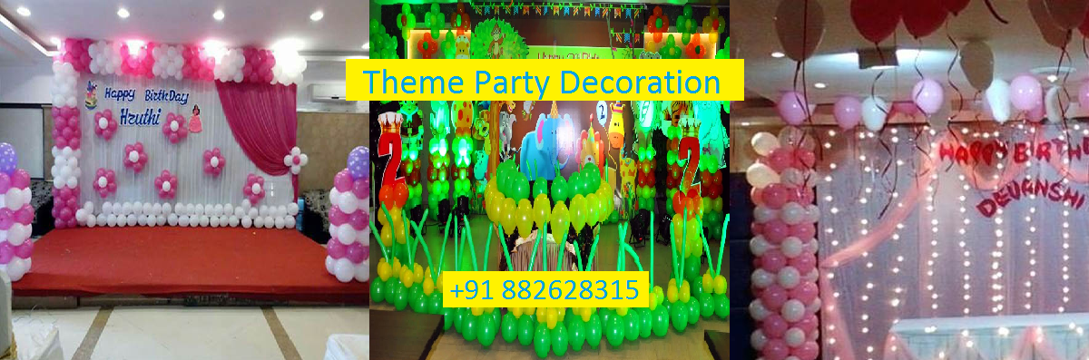 Theme party decoration.