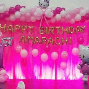 1st birthday party decoration ideas