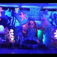 Underwater Theme Party Decoration for the Birthday Party